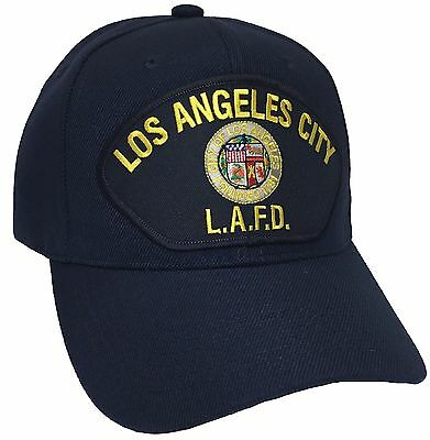 Los angeles fire department Hat Color Navy Adjustable New Hat