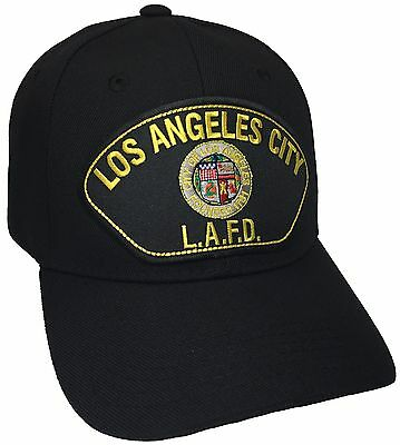 Los Angeles fire department Hat Color Black Adjustable LAFD New Hat