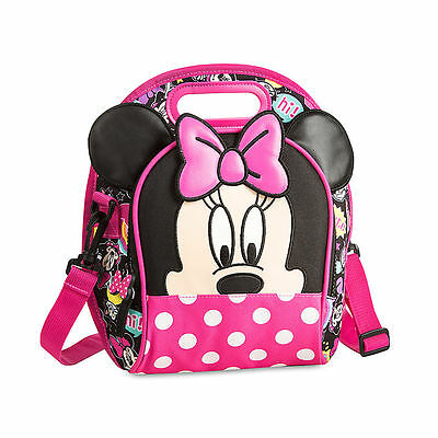 Disney Store Minnie Mouse Lunch Tote Bag Really Cute!