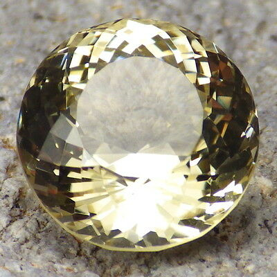 GOLD-YELLOW OREGON SUNSTONE 9.07Ct FLAWLESS-FOR TOP JEWELRY-PERFECT CUT!