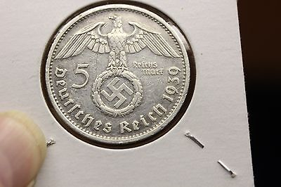 Lot of 7 1930's Germany 5 RM  (459)