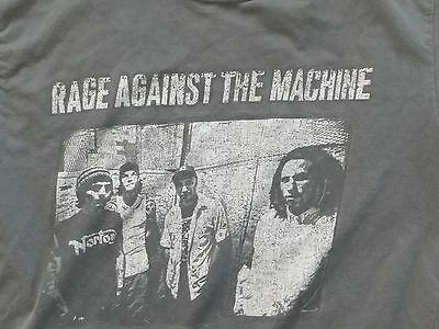 Rage Against The Machine Vintage 1997 T Shirt Gray Tour North American Band S