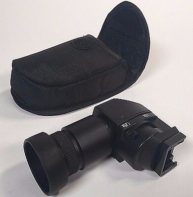 Ziv Right Angle Viewfinder · For Nikon, Canon, Leica, and Pentax Cameras