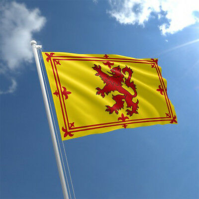 LION RAMPANT Flag 3ft x 2ft Scotland National Flag Scottish - Medium Size - UK