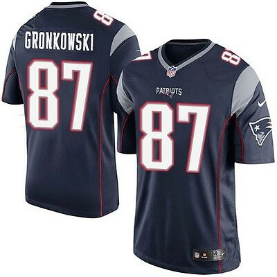Rob Gronkowski NFL Home Nike Youth Replica Jersey Navy Blue Home Patriots
