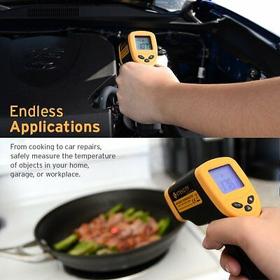 Etekcity Lasergrip 774 Non-Contact Digital Laser Infrared Thermometer -58℉~ 71