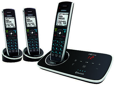 Uniden Elite 9135+2 Multi Mode Bluetooth DECT 6 Cordless Phone System