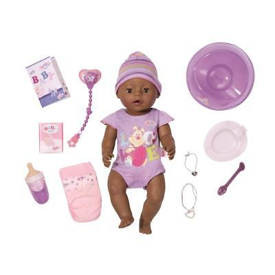 Baby born Interactive Ethnic Baby Doll for children from 3 years baby doll
