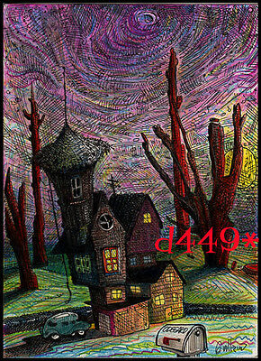 """""""the Only House In The Petrified Forest Belonged To Agnes Odegard"""" Gullerud Art"""