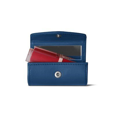 Lucrin - Lipstick Holder - Royal Blue - Smooth Leather