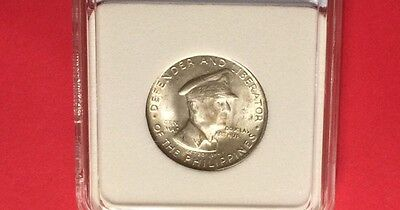 PHILIPPINES UNCIRCULATED  1947-S 50 CENTAVOS (MacARTHUR).very nice coin.