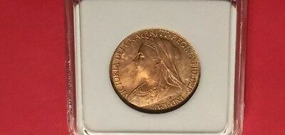 Great Britain -Uncirculated 1901 Penny  Red.