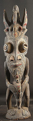 Large Male Mythological Spirit Figure Sepik River  Papua New Guinea