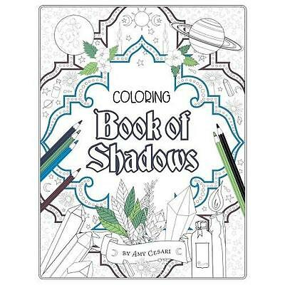 FREE 2 DAY SHIPPING: Coloring Book of Shadows (Paperback)