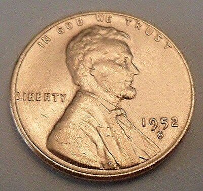 1952 S Lincoln Wheat Cent / Penny   **FREE SHIPPING**