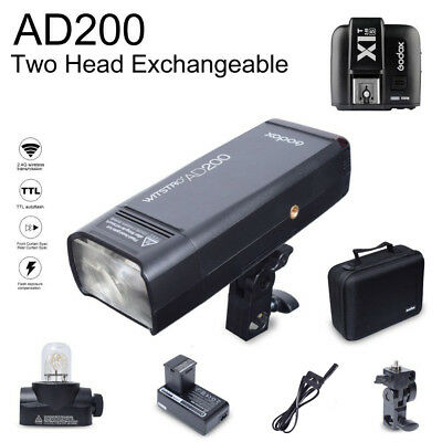 Godox AD200 200W 2.4G TTL HSS Flash Speedlite with X1T-S Transmitter for Sony