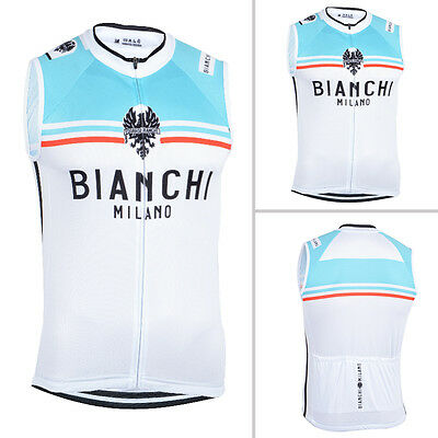 Mens Team Cycling Vest Bike Racing Outfits Tops Sleeveless Pockets Sweater Shirt