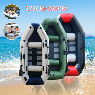 1.75m-2.6m professional inflatable fishing boat rubber boat  0.9MM PVC material