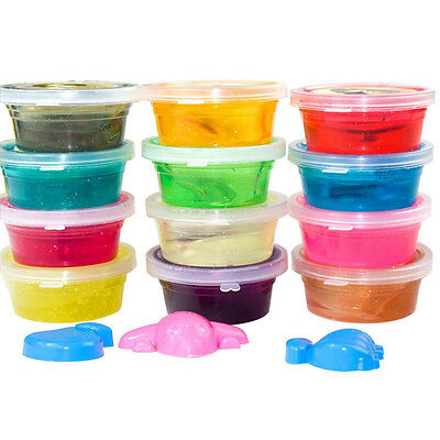 Soft Slime Toy Magic Colorful Clay Toy For Kids 12 Box of Slime With 12 Color