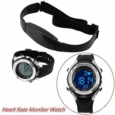 Multifunctional Fitness Heart Rate Monitor Watch Heart Rate Chest Strap MU