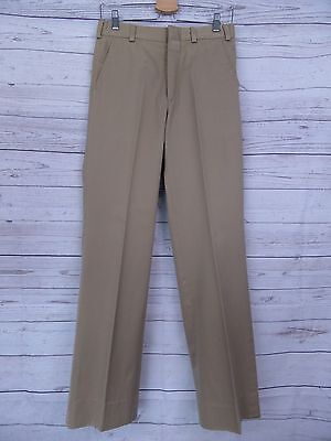 Vintage Mens 1970s Gold Label Preppy Trousers W29 DV02