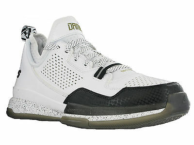 Adidas D Lillard Basketball Adiprene Sprintframe White Sports Mens Trainers