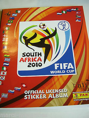 Panini Fifa World Cup Football South Africa 2010 Sticker Album Book Unused