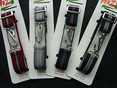 "Mens/adults Retro Stretchy Striped Snake Belts. Fits From 24""-40"" Free Postage"