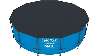 Bestway Steel Framed Pool Cover 8ft 10ft 12ft ROUND SWIMMING POOL PADDLING Pools
