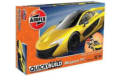 J6013 Airfix Quick Build McLaren P1 Model Car Snap Together Kit - New & Boxed UK