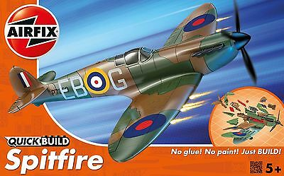 J6000 Airfix Quick Build Spitfire Model Plane Snap Together Kit New & Boxed UK