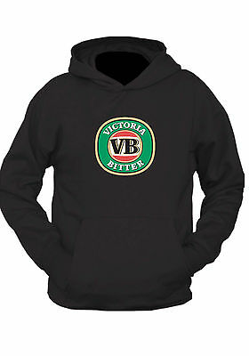 VB BEER  HOODIE !   Black or grey  UNISEX s-2xl    Victoria Bitter classic bar