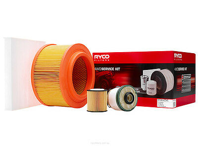 Ryco 4x4 Filter Service Kit RSK25C fits Mazda BT-50 2.2 MZ-CD, 3.2 MZ-CD, 3.2...