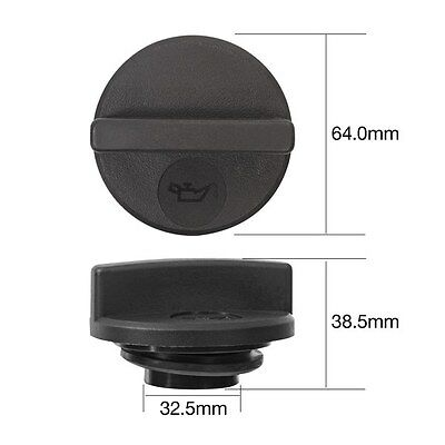 Tridon Oil Cap TOC525 fits Nissan Elgrand 3.0 AWD (ATE50), 3.2 D (AVE50), D (...