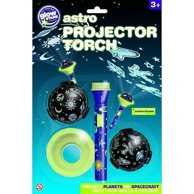 The Original Glowstars Company Astro Projector Glow in the Dark Torch - Brand...