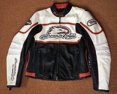 Harley Davidson Woman's Screamin Eagle XL Leather Jacket