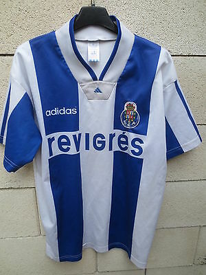 Maillot F.C PORTO n°9 ADIDAS vintage 1995 jersey shirt trikot oldschool S
