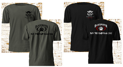 New Private Army Blackwater dyncorp military navy seal black T Shirt S-3XL