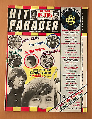 Charlton  Hit Parader  October 1967  Beatles  Monkees  Complete