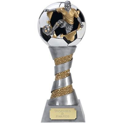 Football Exploding 3D Trophy Award FREE ENGRAVING