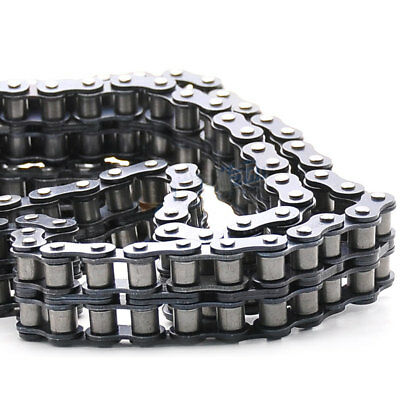#40-2 Double Strand Roller Chain Pitch 12.7mm 08B-2 Roller Chain x 1.5Meters