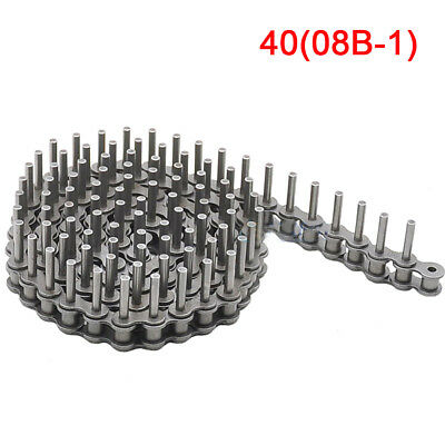 #40 Roller Chain Extended Axis Pin 25mm Roller Chain x 1.5Meters
