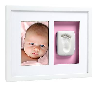 Pearhead Babyprints Baby Handprint or Footprint Wall Photo Frame & Impression...