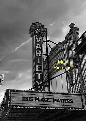 Movie Theater 8 X 10 Photography Print