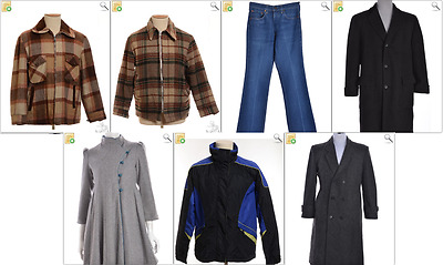 JOB LOT OF 7 MIXED VINTAGE GARMENTS - Mix of Era's, styles and sizes (21441)*