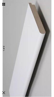 Window Sill Board MDF BULL NOSE 194mmx25mm Primed White £20 Per 5.7M Lengths