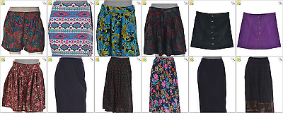 JOB LOT OF 56  VINTAGE MIXED SKIRTS - Mix of Era's, styles and sizes (21876)*