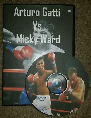 Arturo Gatti Vs Micky Ward I, II, III (1,2 and 3) DVD Full Fight trilogy boxing