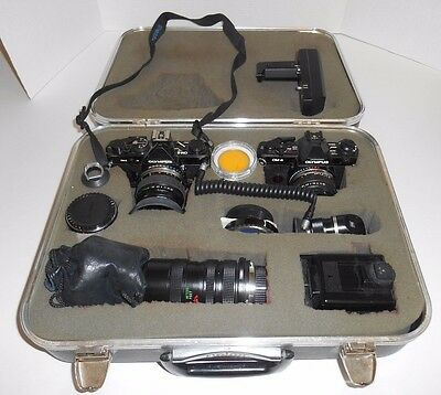 Olympus Camera and Equipment Lot