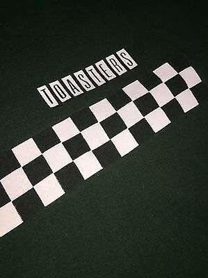 Vintage Early 90's Toasters 2-tone Shirt Checkered T-shirt XL